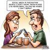 Today's cartoon: Social media